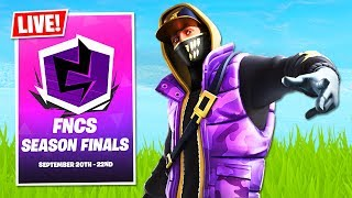 WE QUALIFIED!! Fortnite Champion Series, Season X Finals LIVE! (Fortnite Battle Royale)
