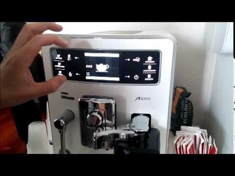 PhIlips Saeco, las cafeteras que hacen autentico espresso