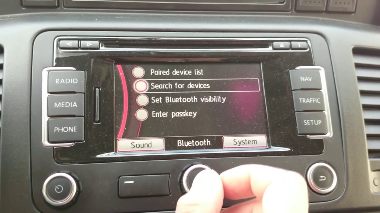 DIY RNS315 hidden bluetooth activation by VCP by karoltech pl