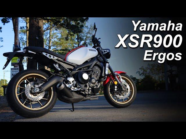 2020 Yamaha XSR900 - Ergonomics and Seat Height