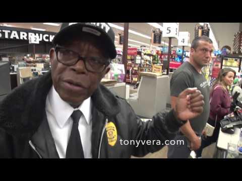 Ralphs racist security guard profiles tony vera as a shoplifter in venice