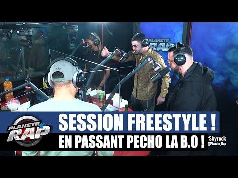 Youtube: En passant pécho – Session freestyle avec RK, Sadek, Doria, Zeguerre, Max Paro, Souli… #PlanèteRap