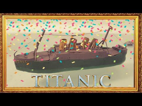 Титаник из пластилина возвращение. Потоп кораблика