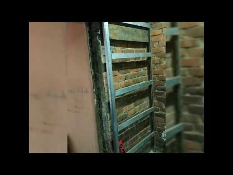 Раздвижные двери в стену своими руками.