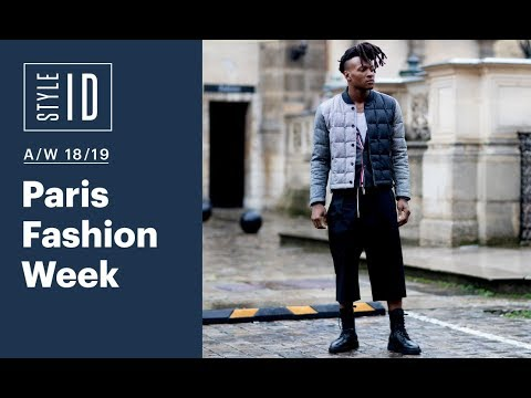 Style ID: Paris Fashion Week Men's A/W 18/19