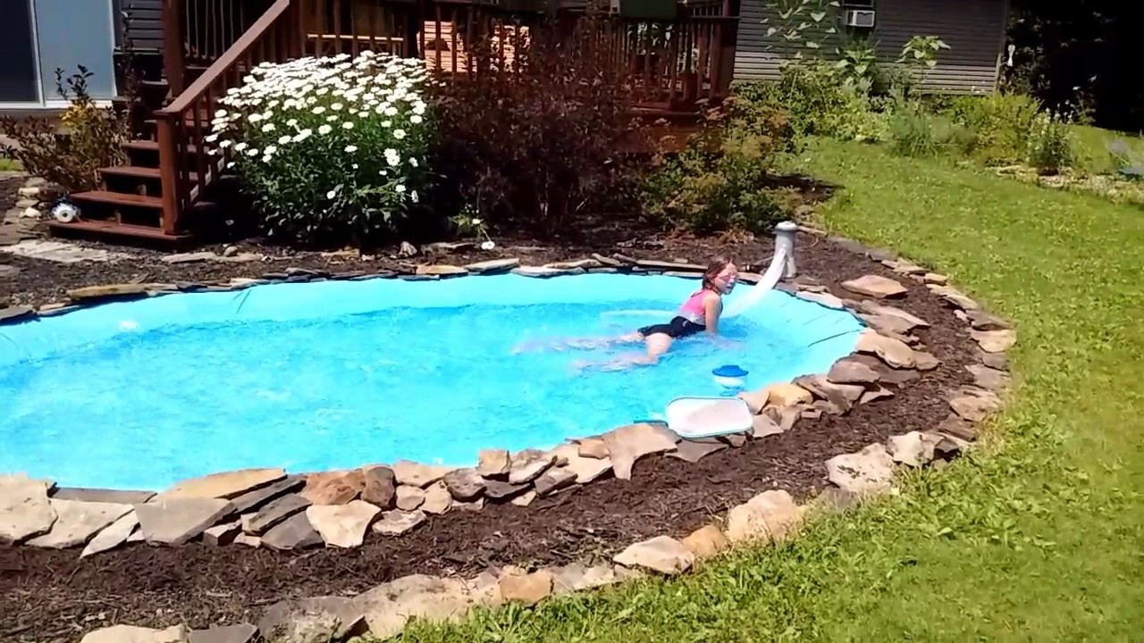 Homemade Pool Homemade Pools Diy Swimming Pool Homemade Swimming Pools