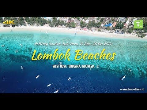 #LBFtrip: Lombok Beaches (4K Video)