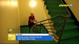 Runners conquer 36 floors at the 4th Hilton Tower Race in Dubai