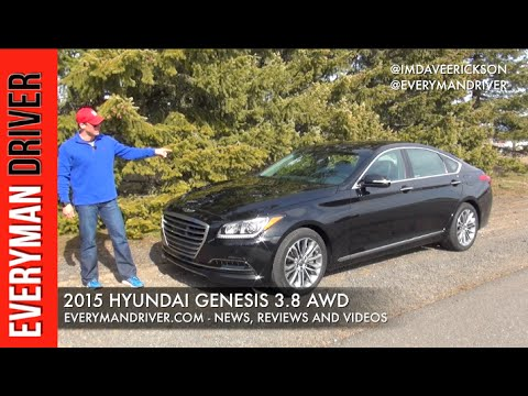 2015 Hyundai Genesis AWD 3.8 Review Everyman Driver