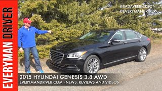 Here's the 2015 Hyundai Genesis AWD 3.8 Review Everyman Driver