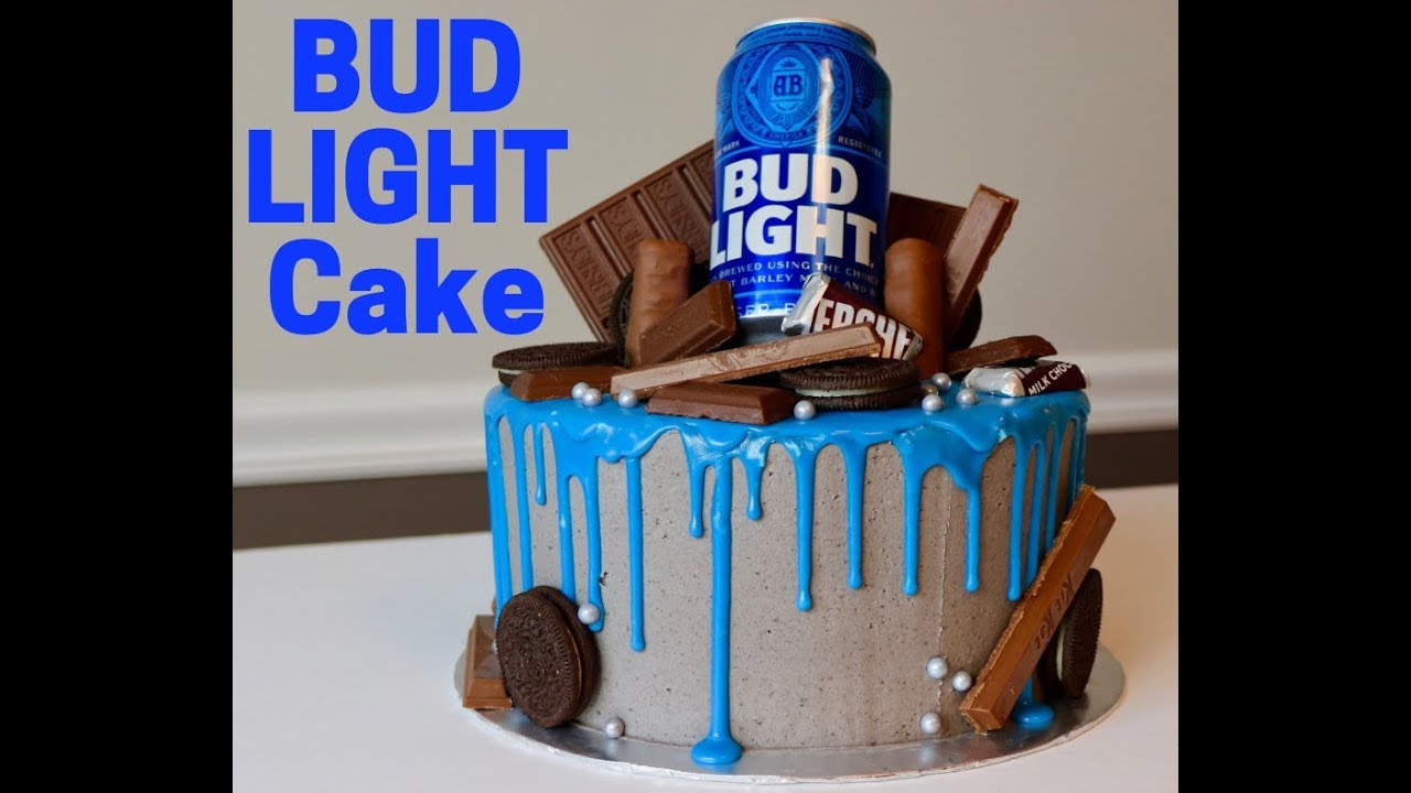 Bud Light Cake Youtube