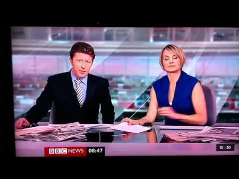 BBC news presenter farts on live tv