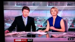 BBC news presenter farts on live tv