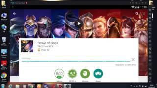 Bilgisayara Strike of Kings İndırme Nox App 2017 (full) Kurulum