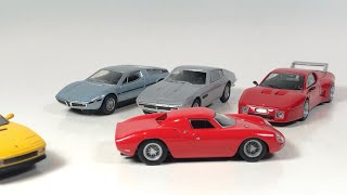 Diecast Weekly Episode 128 - Kyosho Ferrari's and Maserati's and some loose Hot Wheels