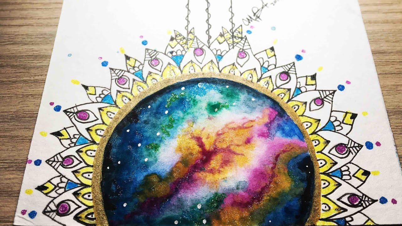Mandala Galaxia Mandalas Diferentes Mandala Tumblr Youtube