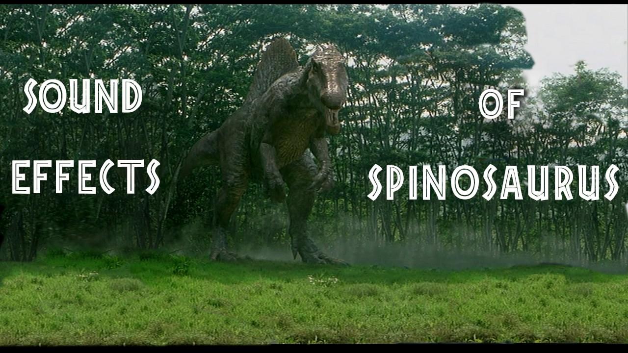 Jurassic Park III - Spinosaurus Sound Effects - YouTube