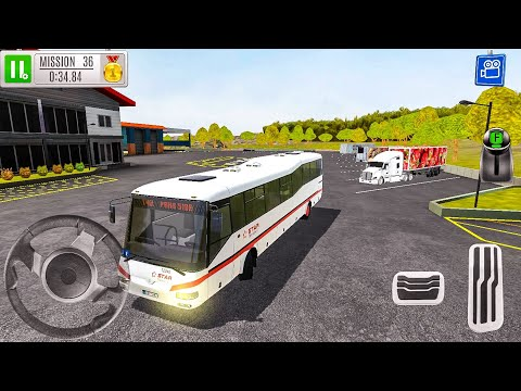 Gas Station 2: Highway Service New Car (Bus) - Android Gameplay FHD
