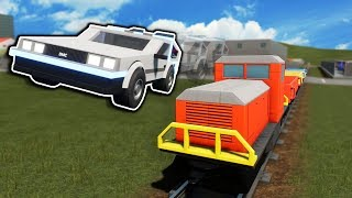 Idiots Try to Go Back to the Future to Stop Lego Trains in Bri…
