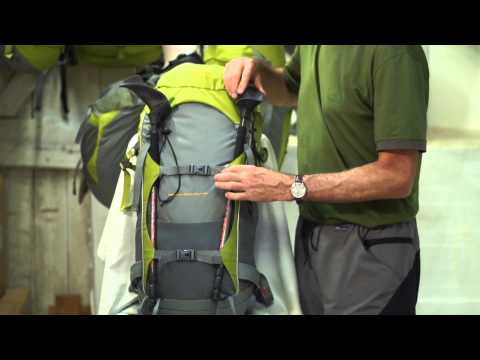 Aarn Bodypacks Attaching Trekking Poles