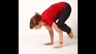 Видео уроки Открытой йоги. Бакасана. Скрученная стойка на руках.