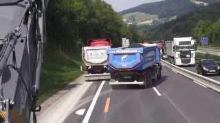 Belagssanierung auf A7 Mühlkreisautobahn