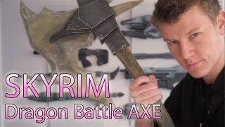 SKYRIM: Dragon Bone Battle AXE