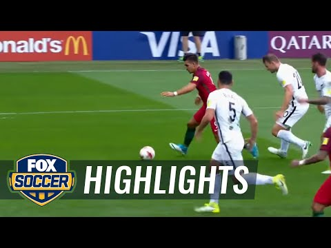 André Silva makes it 3-0 for Portugal | 2017 FIFA Confederations Cup Highlights