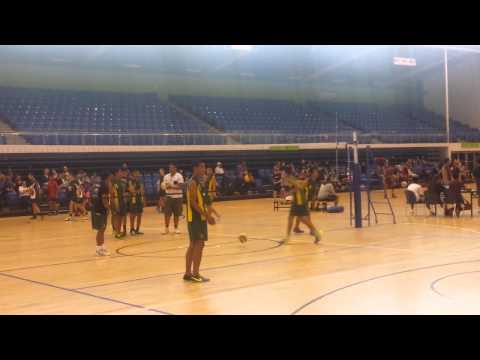 Manurewa Volleyball Junior Boys Warm Up