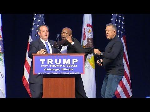 Trump Supporters Clash