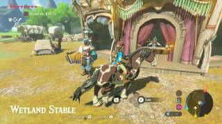 Legend of Zelda: Breath of the Wild - How to Tame a Horse and Name it