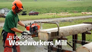 Woodworkers Mill | Portable Sawmill | LOGOSOL