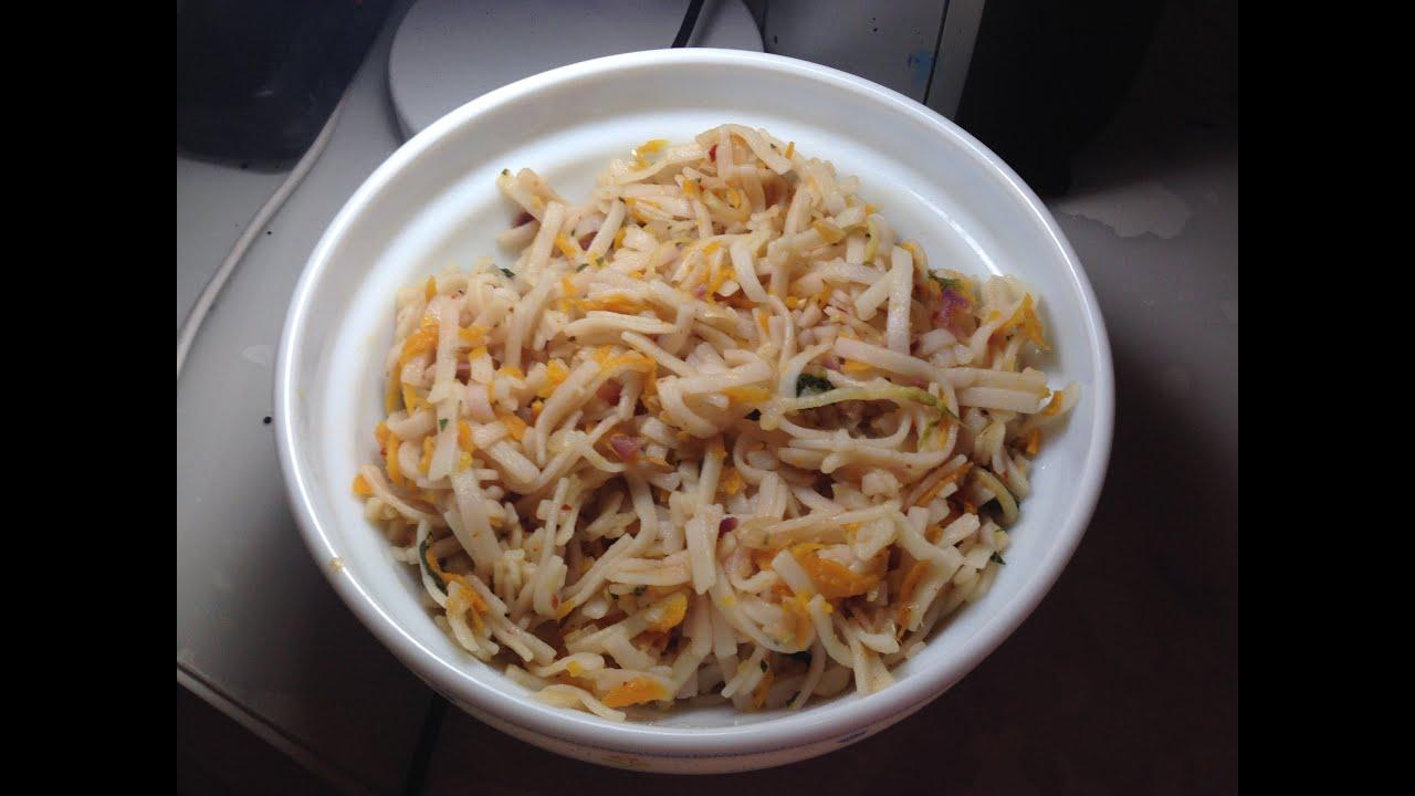 Sebzeli pirinç eriştesi tarifi