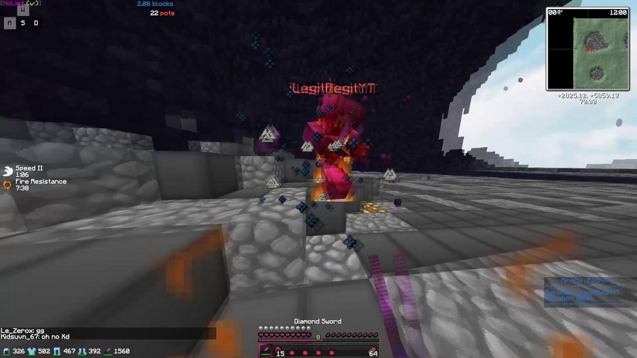 Minecraft Server Ip Potpvp