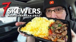 Chicken Heart Skewers ❤️ 7 Skewers Mediterranean Grill