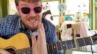 AJR - 100 Bad Days // easy guitar tutorial beginner lesson Video