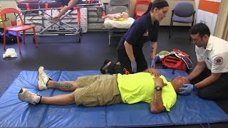 Trauma Assessment Testing Station (EMT / AEMT / NRP)