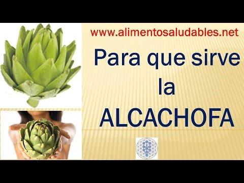 Para que sirve la ALCACHOFA - YouTube