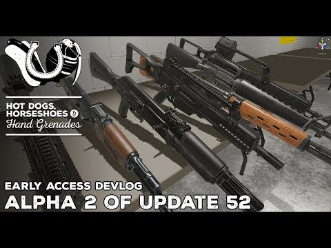 H3VR Devlog: Alpha 2 of Update 52, Rifle rebuilds, Tons of Tuning and Fixes