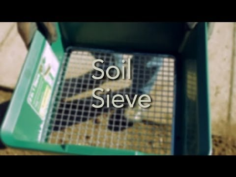 How to Use a Soil Sieve : Garden Tool Guides