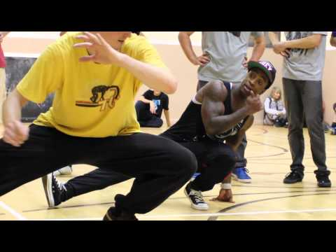 B-Boy Machine Killafornia/Rock Force iLL Sessions Breakdance Workshop