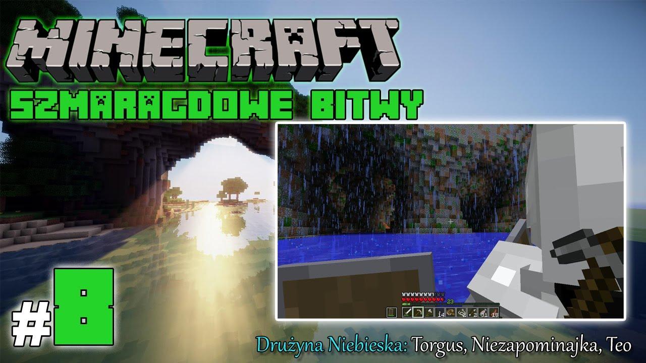 """Minecraft: Szmaragdowe Bitwy [Drużyna Niebieska] odc. 8 – """"Niczym Kolumb w świat…"""""""