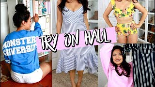 RE-BUILDING MY WARDROBE | TRY-ON HAUL 2018: JUSTFAB, NORDSTROM, & HOLLISTER
