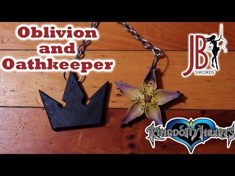 baúl de los recuerdos 2/2-  OBLIVION OATHKEEPER kingdom hearts =JB Swords=