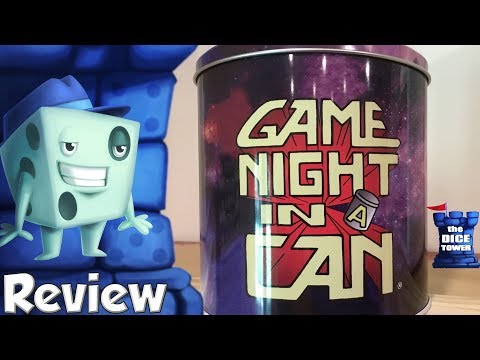 Game Night in a Can Review - with Tom Vasel