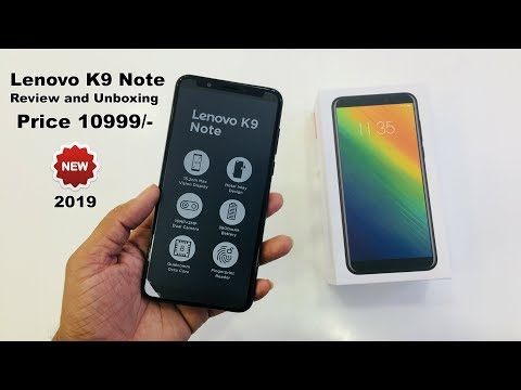 Lenovo K9 Note Unboxing And Review in Hindi #lenovo