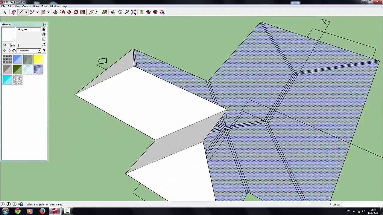 Sketchup pro2015 how to create house model in hour for How to start building a house