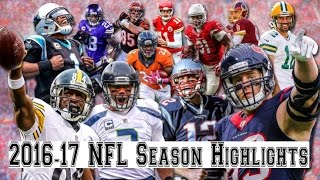 2016-17 NFL Season Highlights