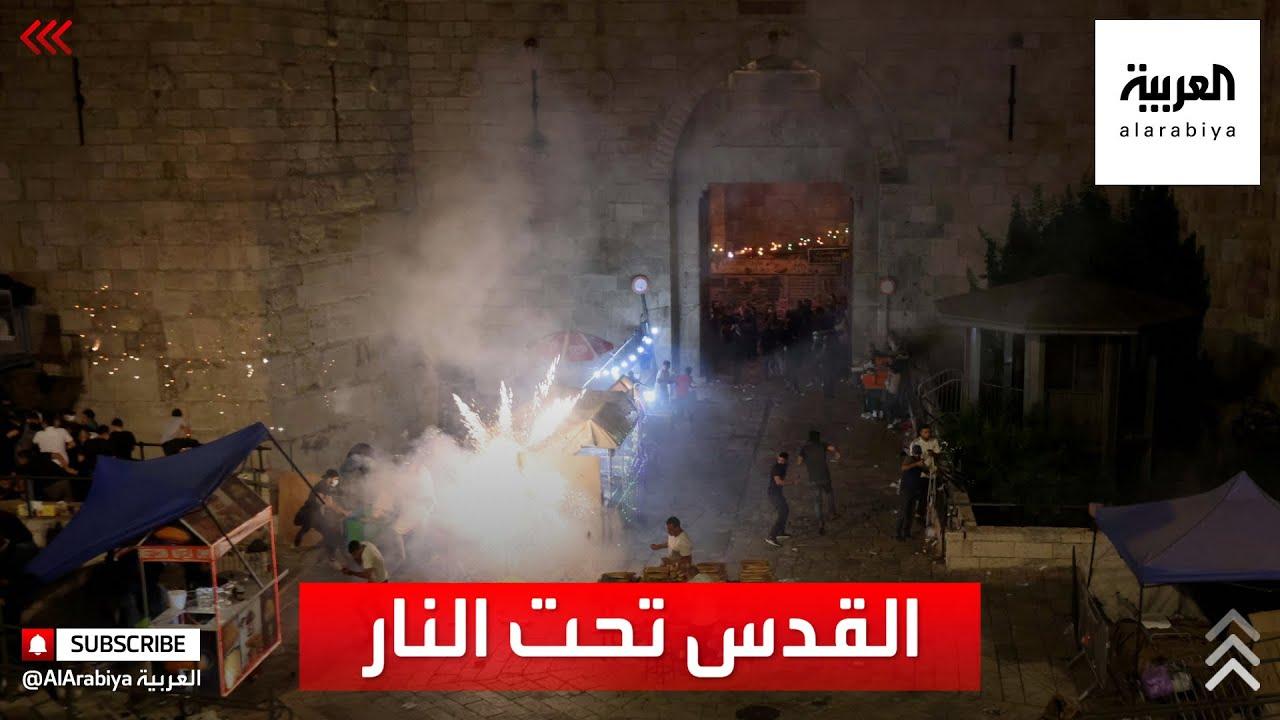 سحل وضرب واعتقال..مشاهد لاقتحام الشرطة الاسرائيلية المسجد الأقصى  - نشر قبل 17 ساعة