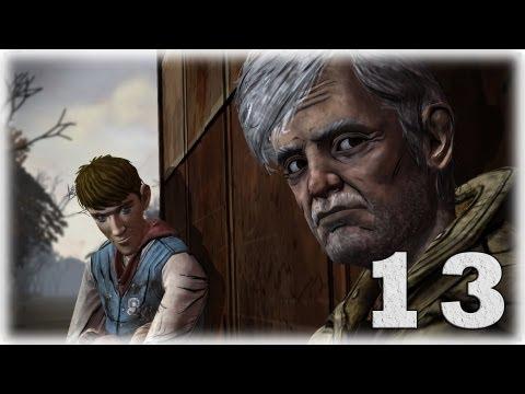 Смотреть прохождение игры The Walking Dead: Episode 3. Серия 13 - Ли, сзади!